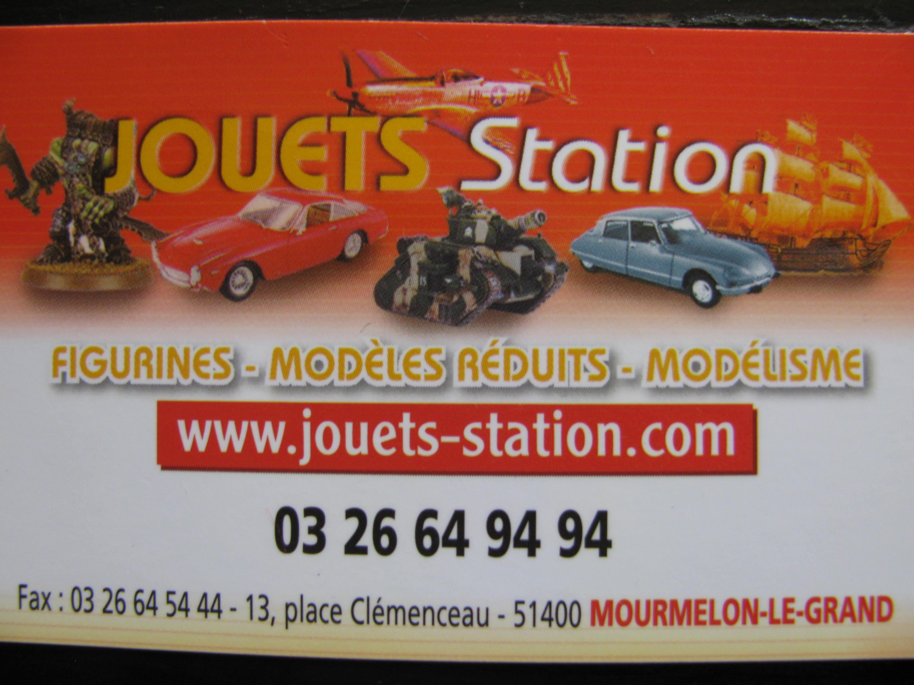 JOUETS et STATION